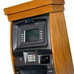 atm wooden cabinet