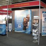 complete atm services trade show display