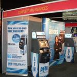 complete atm services at trade show