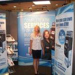 atm services trade show stand