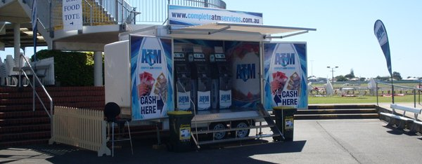 Mobile ATM trailer for Events