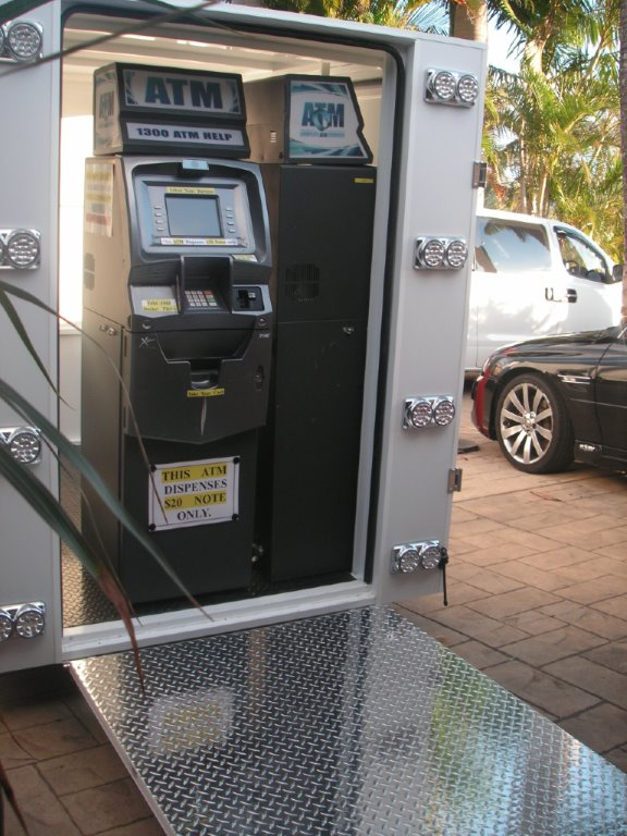 ATM Twin Trailor adjoining sides